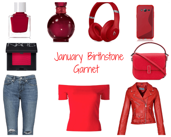 January Birthstone Styling