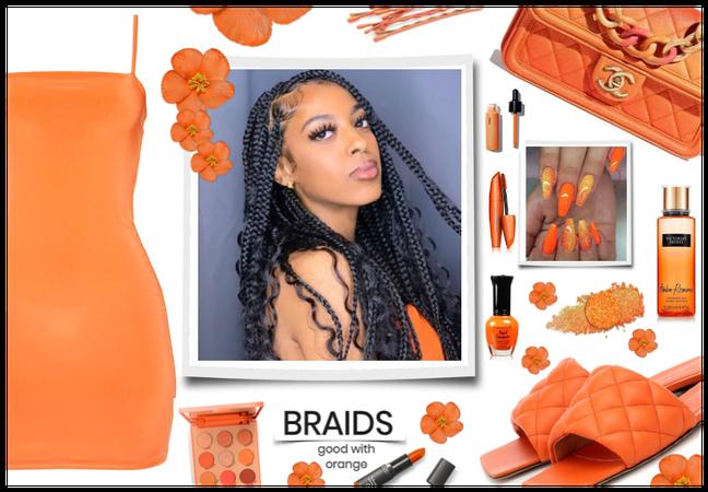 Braids good with orange