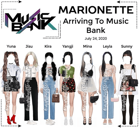 MARIONETTE (마리오네트) [MUSIC BANK] Arriving At Music Bank