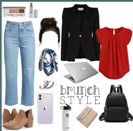 brunch of a business woman