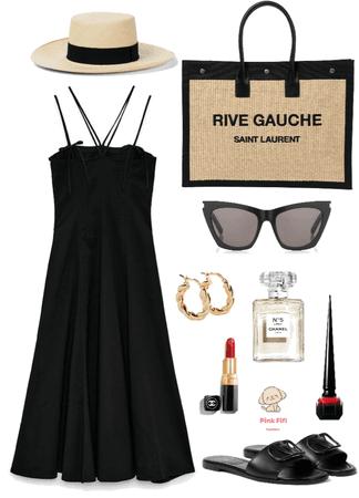 Bon Voyage In Black 🛥