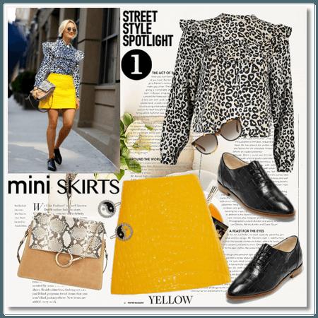 Street Style Spotlight: Mini Skirts