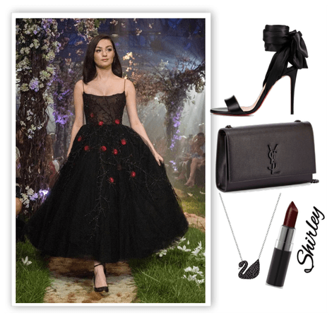 Shirley Black Swan Outfit