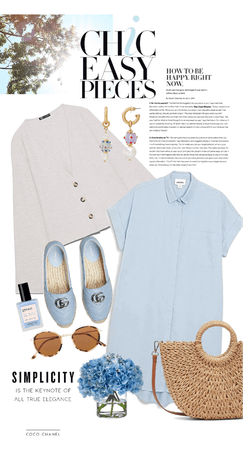 simple summer dressing
