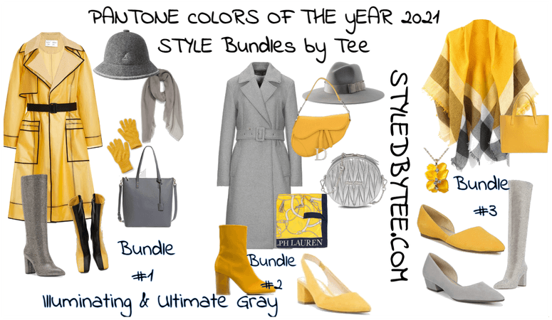 Style Bundles for Colors of the Year 2021