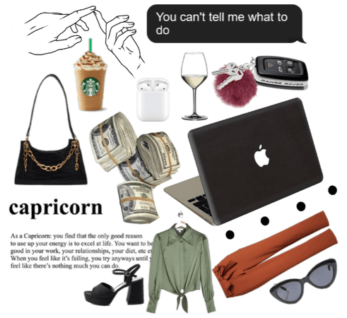 capricorn aesthetic