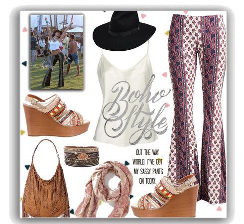 statement pants - boho style