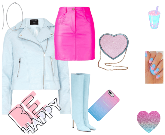 Cotton-Candy Leather-Style