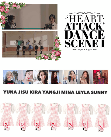{MARIONETTE} 'Heart Attack' MV Dance Scene 1