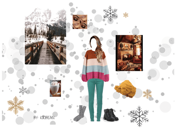 Cozy cabin outfit