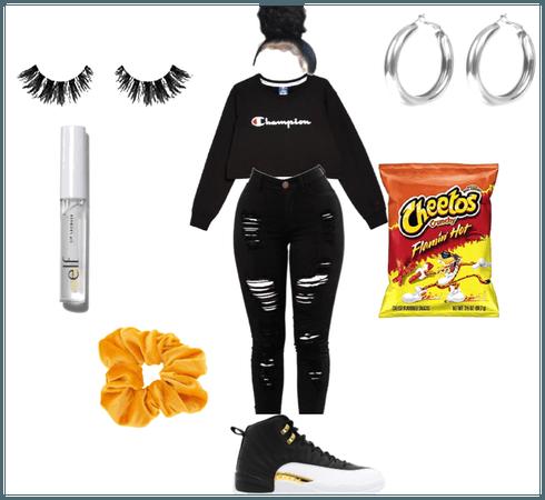 The hot cheeto vsco girl