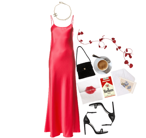 i got my red dress on tonight