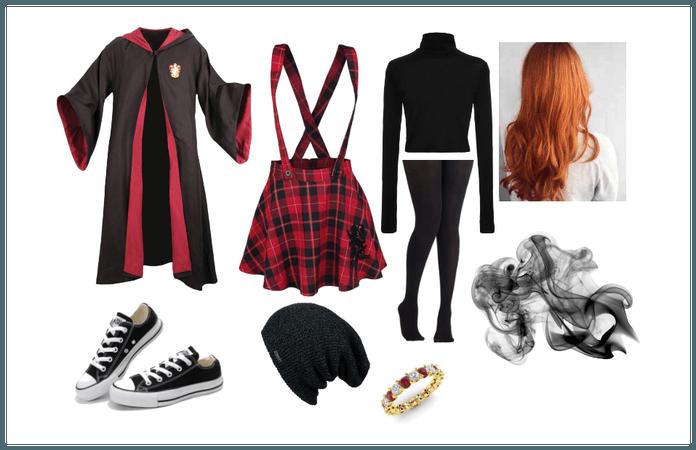 Ginger Wizard School Uniform 1