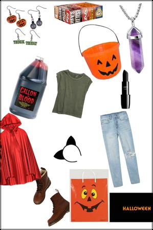 Diy Halloween movie night outfit