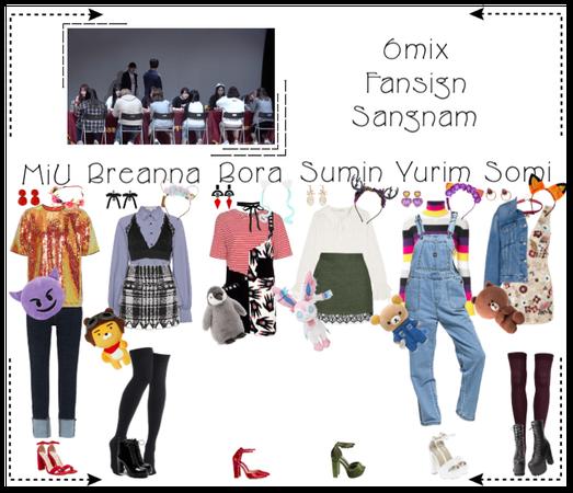 《6mix》Sangnam Fansign