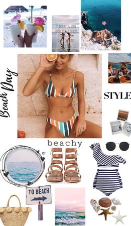 beach day 🤿🩱🏊♀️