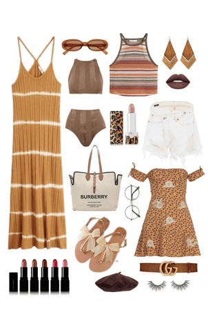 One Pair of Sandals - So Many Looks!