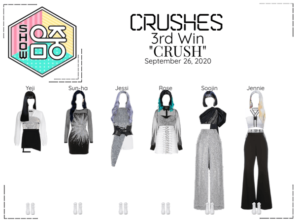 """Crushes (호감) """"CRUSH"""" 3rd Win"""