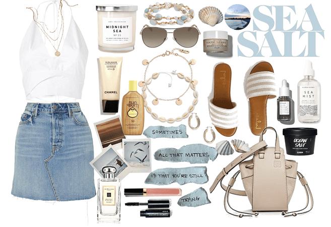 Sea Salt: so refreshing...