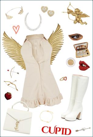 Dressed As Cupid
