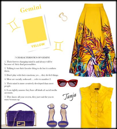Yellow for Gemini