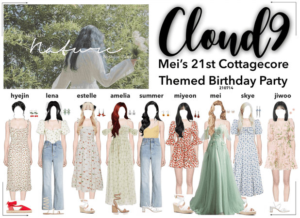 Cloud9 (구름아홉) | Mei's 21st Birthday Party