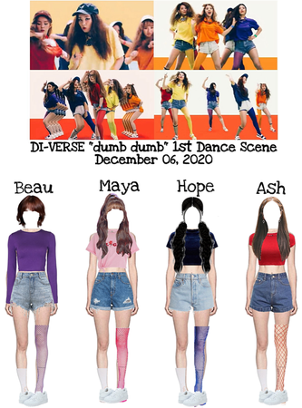 "DI-VERSE ""dumb dumb"" 1st Dance Scene"