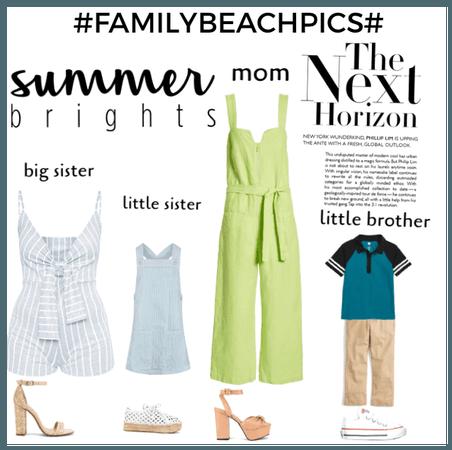 #FamilyBeachPics