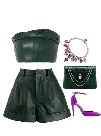 emerald leather