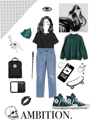Slytherin Girl (casual)