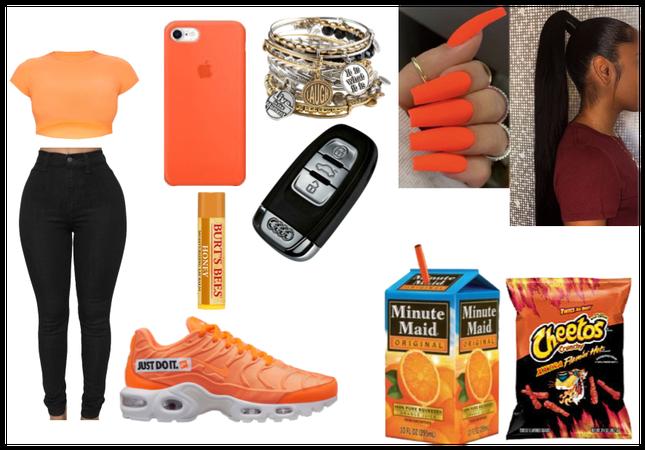 orange everything