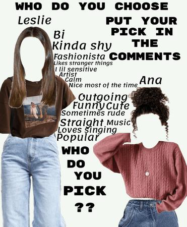 who do you pick?