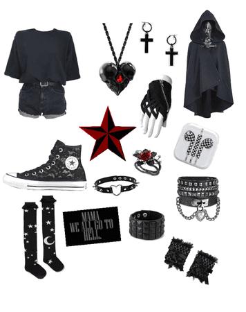 emo/grunge/goth