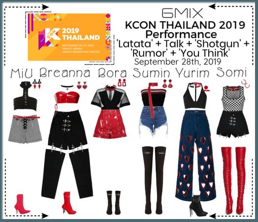 《6mix》KCON Thailand 2019 | Performance
