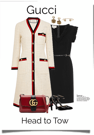 Gucci warm winter coat