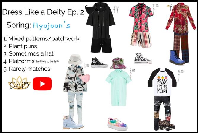 Dress Like a Deity Episode 1   Hyojoon in Spring