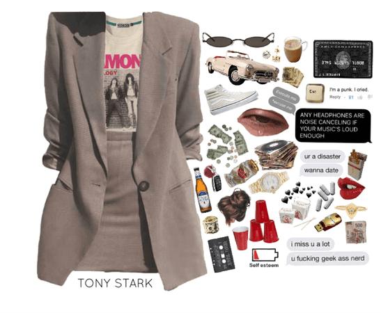one; tony stark