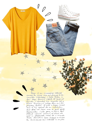 yellow aesthetics