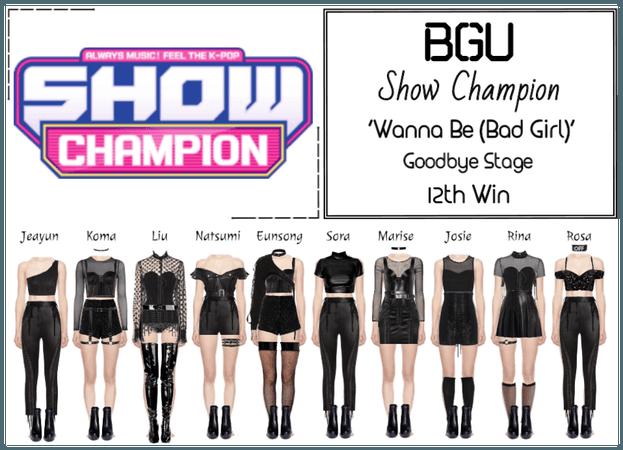 BGU Show Champion 'Wanna Be (Bad Girl)'