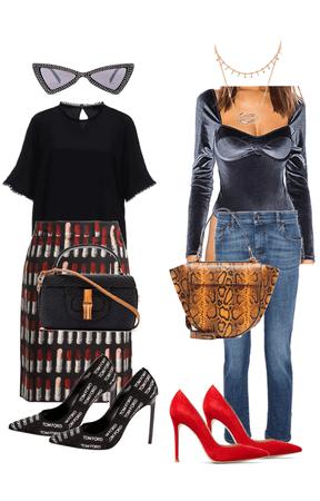 Skirt vs Jeans