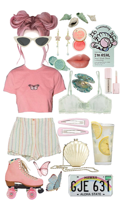 muted pastels :)