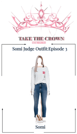 Somi Take The Crown Judge Outfit-11/29/20