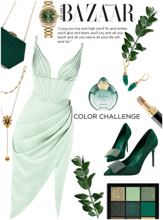 """Color challenge """" GREEN"""""""