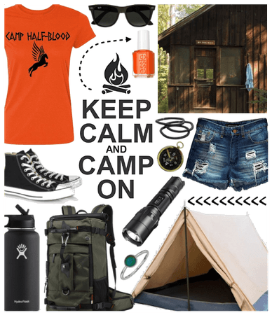 SUMMER 2020: Camping (Halfblood Style)