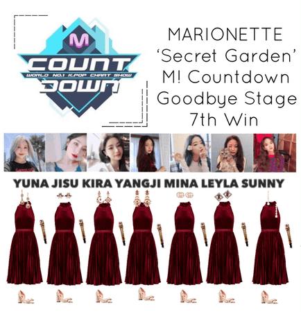 {MARIONETTE} M! Countdown Goodbye Stage 'Secret Garden' 7th win