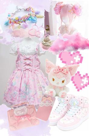 kawaii pink