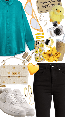 Sunflower Retro Outfit