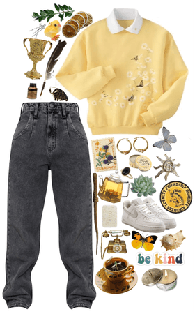 Hufflepuff Inspired Outfit- Challenge