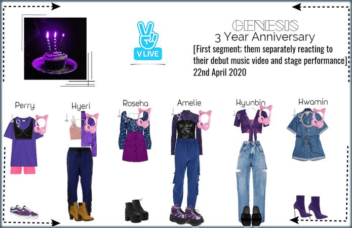 GENESIS (게네시스) 3rd Anniversary VLIVE