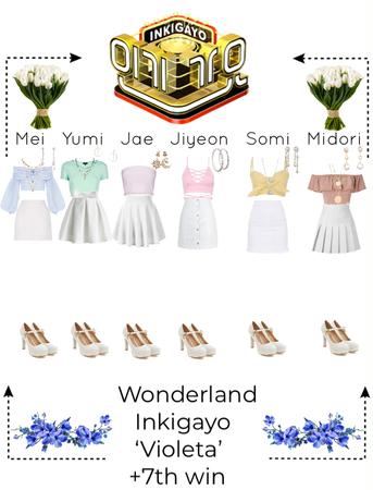 inkigayo- Wonderland